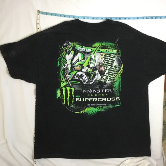a151787a8 Monster Shirts | Energy Supercross Tshirt Motocross 3xl | Poshmark